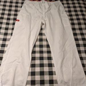 Two White 2XL Scrubs (short sleeve & pants) Sets